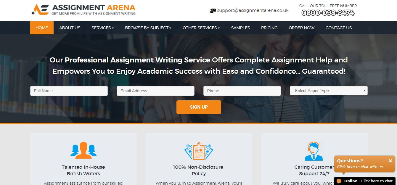 Assignmentarena.co.uk
